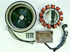 32 AMP Heavy Duty Alternator Charging System Kit Chrome Reg for Harley '70-99