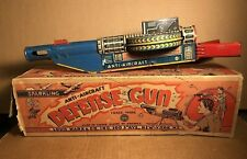 Rare Marx Anti-Aircraft Defense Gun | Windup | With Box | Motor Works | 1940s