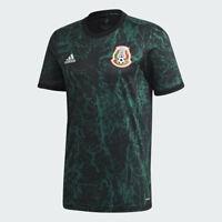 adidas 2020-21 Mexico Pre-Match Jersey - Green-Black