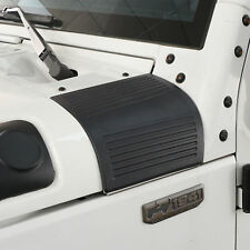 Black ABS Cowl Body Armor Hood Protection For 07-18 Jeep Wrangler JK Unlimited