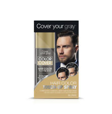 Cover Your Gray Mens Color Cover Touchup Spray - Blonde