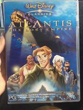 Atlantis - The Lost Empire | DVD Region 4 | Good Condition | Disney Movie