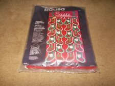Bucilla Kit Jeweled Panel Stocking Advent 24 Days Christmas Gift Calendar New