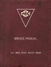 AEC Engine manual collection on CD - 312,410,470,471,505,590,690,691,760 (PDF)