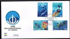 Malta 1998 Year of the Ocean First Day Cover FDC SG 1077 - 1080 Not Addressed