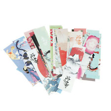 30pcs Kawaii Vintage Japanese Style Bookmarks For Kids School Materials UK