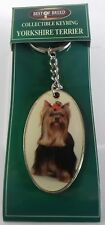 Yorkshire Terrier 'Best of Breed' Quality Dog Keyring. ☆CLEARANCE☆