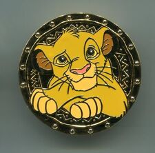 DMC Disney Movie Club Trading Pin Simba The Lion King Gold Coin pin