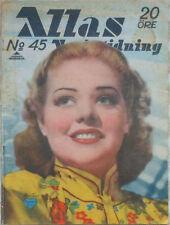 Allas - Nov 7, 1941 - ALICE FAYE on Cover - CHARLIE CHAN Comic