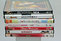 Romantic DVD Movies Lot Of 7  DVD Pre-Owned Good