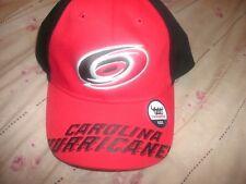 New NHL Carolina Hurricanes Hat Cap Lid Youth One-Size  (B14)