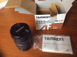 Tamron SP-AF28-75mm F2.8 XRDI Macro Canon EOS Fit
