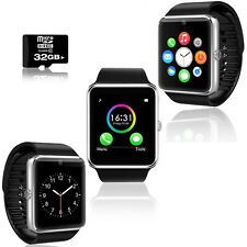 GT8 Stylish Bluetooth SmartWatch Pedometer+Fitness Android iOS - FREE 32GB SD!