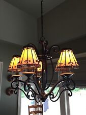 Quoizel stained glass chandeliers ebay quoizel chandelier and pendant lights aloadofball Gallery