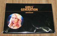 GIRLS' GENERATION Mr.Mr. SM LOTTE POP UP STORE GOODS HYOYEON BADGE PIN BUTTON
