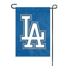 """MLB Los Angeles Dodgers Embroidered Garden Window FLAG NEW 15"""" x 10.5"""""""