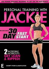 Personal Training With Jackie: 30 Day Fast Start - Celebrity Clients R4 DVD NEW