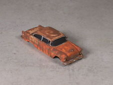 Ho Scale Red & Orange Rusted Out 1955 Chevy