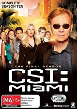 Csi Miami Season 10 NEW R4 DVD