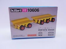 Lot 23845 | Kibri ho 10606 scheuerle carro de plataforma 1:87 kit nuevo en OVP