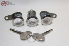 79-93 Mustang Ford Door Trunk Lock Cylinders Keys New