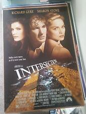 Intersection (1994) Original Movie Poster 27x40 Richard Gere Sharon Stone