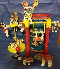 Original Vintage 1963 Fisher-Price Junior Circus #902