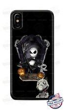 Happy Halloween Jack Skellington Nightmare Phone Case Cover for iPhone Samsung