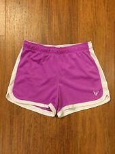 Justice Lavender Light Purple Athletic Mesh Shorts Girls Size 10