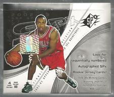 2002-03 Upper Deck SPx Basketball Box