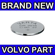 Volvo S70, V70, V70XC (-00) C70 (-05) 440 460 Remote Key Fob Battery (x1 CR2016)