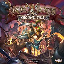 Rum & Bones Second Tide Kickstarter Kraken Pledge + All Exclusive Add On IN HAND
