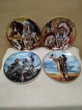 Franklin Mint Collector Plates Lot 4 American Indian