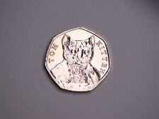 RARE Beatrix Potter 50p Coin Tom Kitten 2017 Circulated