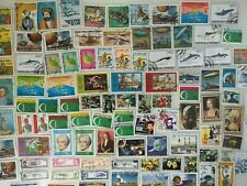 100 Different Comoro Islands Stamp Collection