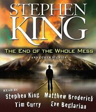 THE END OF THE WHOLE MESS unabridged audio book on CD by STEPHEN KING