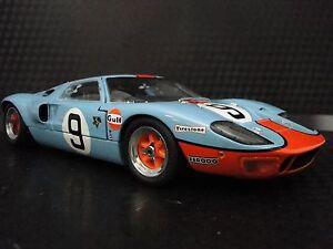 GT40Classic Custom Dream Built Metal Model Concept Hot Rod Race Sports Promo Car
