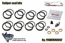 BMW R1100 S 96-00 Brembo front brake caliper seal repair kit set 1996 1997 1998