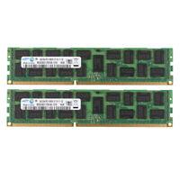 For Samsung 8GB 2X 4GB PC3-8500R Reg-DIMM ECC Server DDR3 1066MHz Memory RAM @MY