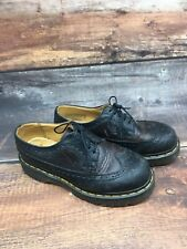 Original Doc Martens Wing Tip Oxford Shoes Mens Size 5 Brown Leather England