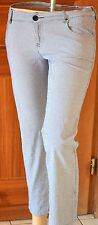 pantalon femme pied de poule noir et blanc  LOVE MOSCHINO TAILLE W28 (38)