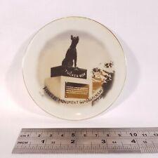 Vintage Dog On The Tuckerbox Gundagai Pioneers Monument Tray Dish Souvenir