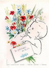 ▬► PUBLICITE ADVERTISING AD Lait bébé Nestlé