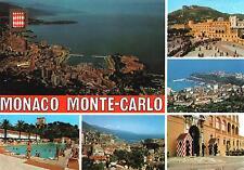 Monaco Monte-Carlo  -  Panorama mit Hafen - Fürstenresidenz - Schlosswache