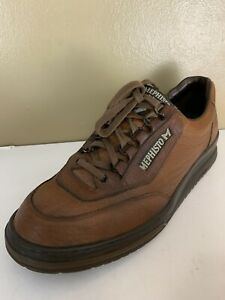 Mephisto Runoff Air Jet System Brown Mens US Size 10.5 walking Leather Shoes
