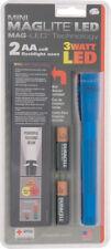New Mag-Lite Mini Maglite 2AA Cell LED Flashlight ML53044