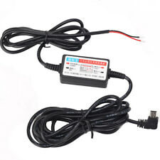 Mini USB DC Car Charger Hard Wire Kit For In Car Dash Cam Camcorder DVR