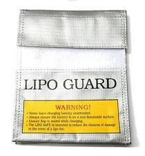 C0093 RC Li-po Lipo GARDE SAC Chargeur batterie housse rangement 15.5cm 5cm x