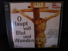 Bach-Matthaeus/Johannes-passion-O principale plein de sang et blessures-Max - 2cds