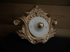 ORNATA Stile Francese Porta cablata PUSH BELL muro o della porta